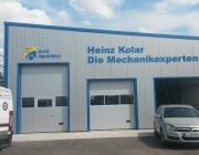 Reliefbuchstaben Kfz-Betrieb